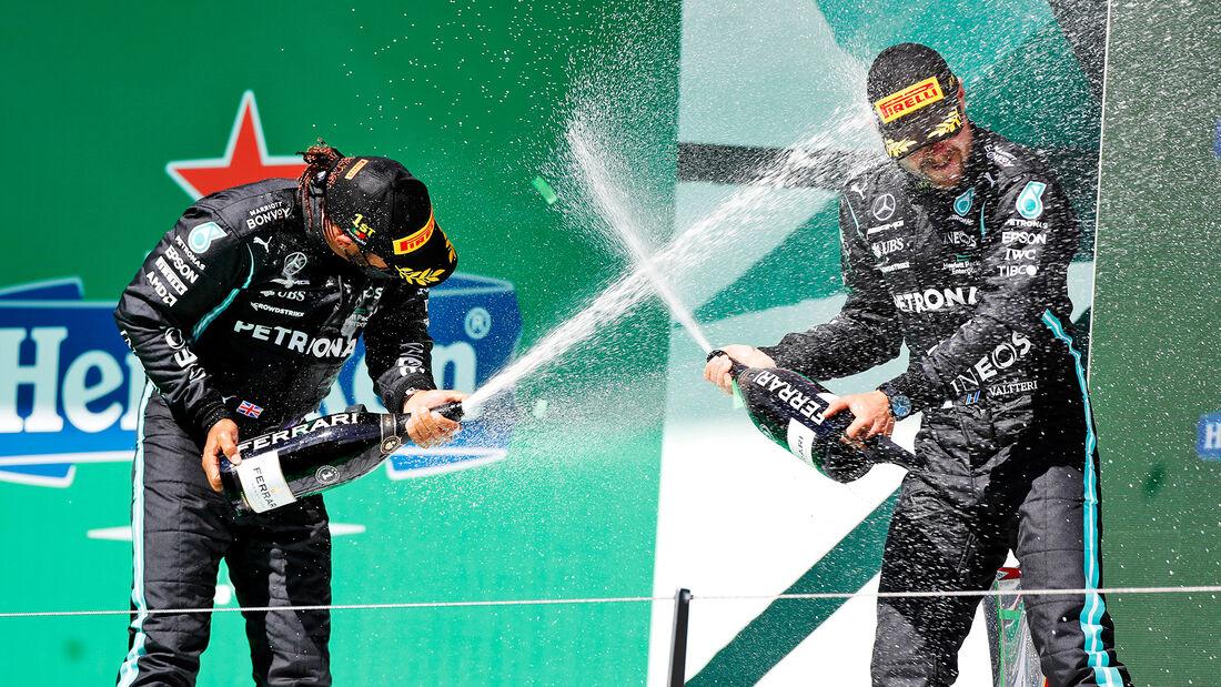 Hamilton & Bottas - GP Portugal - Formel 1 - 2. Mai 2021