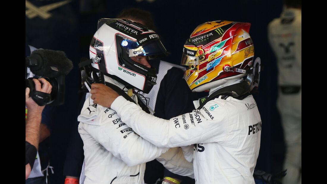 Hamilton & Bottas - GP Russland 2017