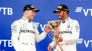Hamilton & Bottas - GP Russland 2018
