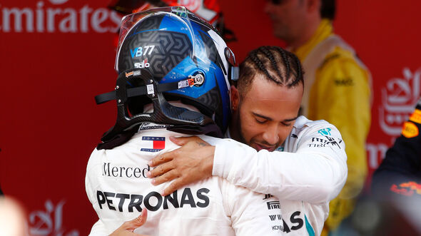 Hamilton & Bottas - GP Spanien 2018