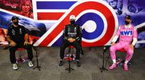 Hamilton - Bottas - Hülkenberg - Formel 1 - GP 70 Jahre F1 - Silverstone - Samstag - 8. August 2020