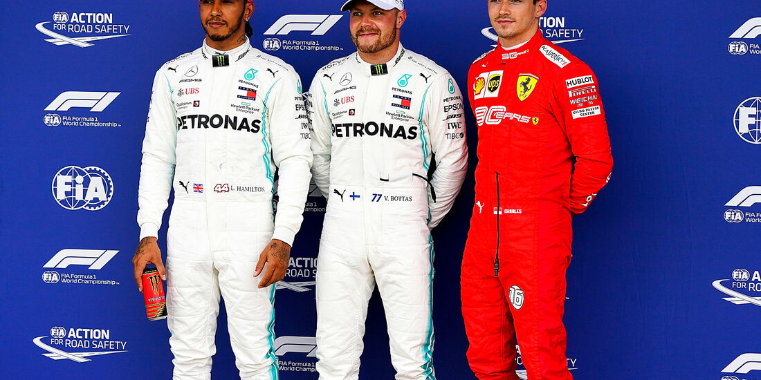 Hamilton - Bottas - Leclerc - GP England 2019 - Qualifying