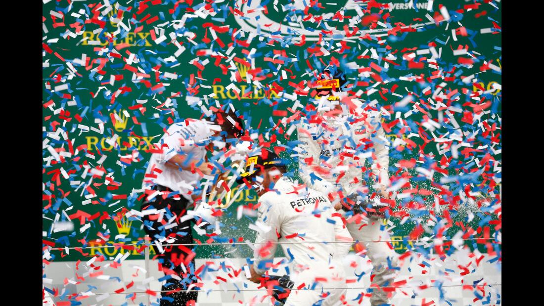 Hamilton - Bottas - Mercedes - Formel 1