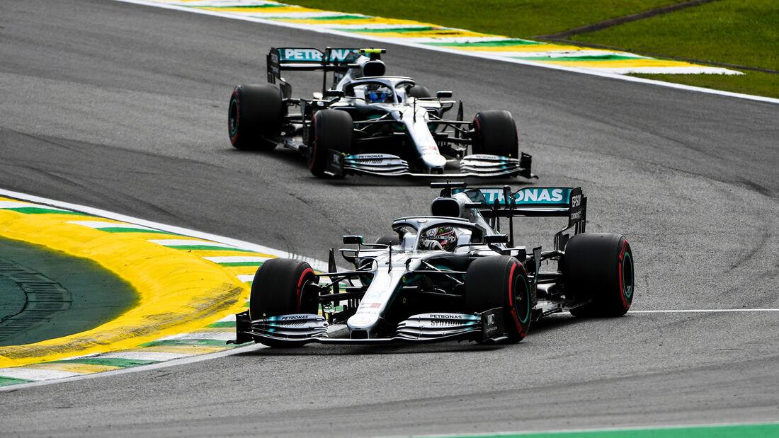 Hamilton & Bottas - Mercedes - Formel 1 - GP Brasilien - Sao Paulo - 16. November 2019