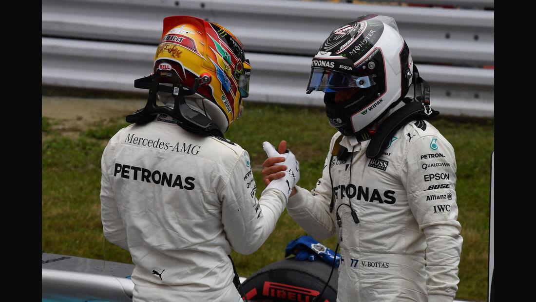 Hamilton & Bottas - Mercedes - Formel 1 - GP Japan - Suzuka - 7. Oktober 2017