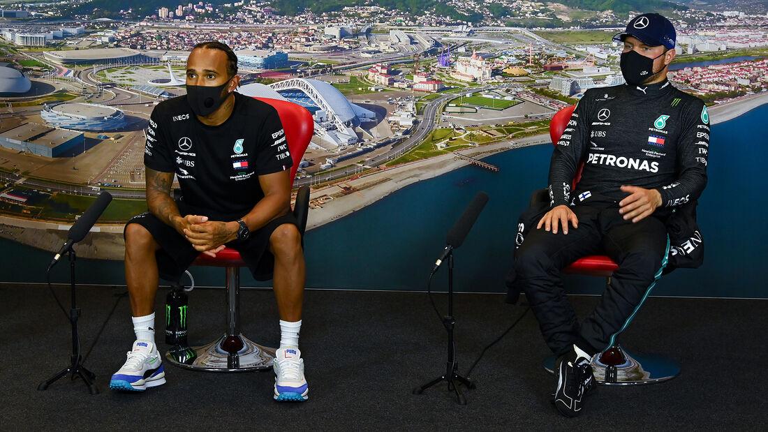 Hamilton & Bottas - Mercedes - Formel 1 - GP Russland - Sotschi - 26. September 2020
