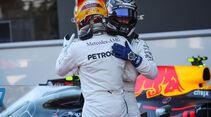 Hamilton - Bottas - Mercedes - GP Aserbaidschan 2017 - Qualifying - Baku - Samstag - 24.6.2017