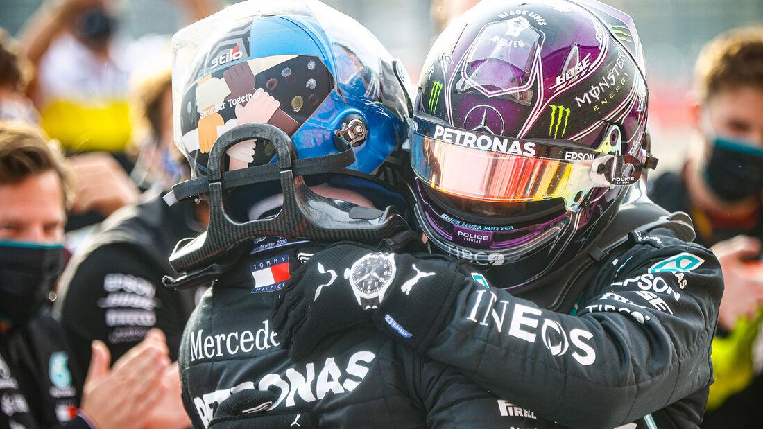 Hamilton - Bottas - Mercedes - GP Emilia-Romagna 2020 - Imola - Rennen
