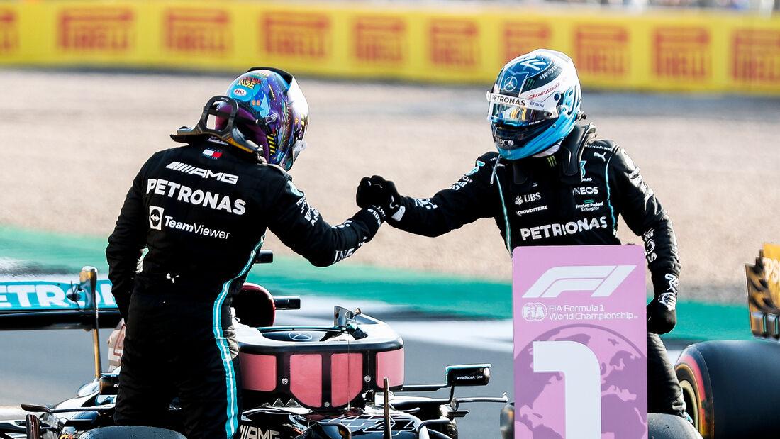 Hamilton & Bottas - Mercedes - GP England - Silverstone  - Formel 1 - 16. Juli 2021