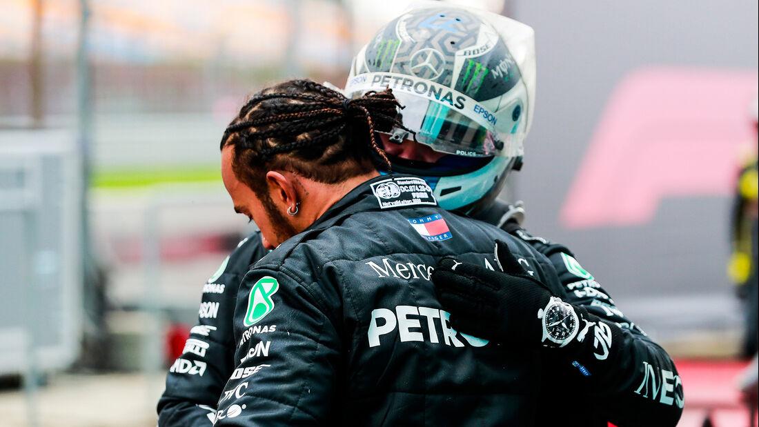 Hamilton - Bottas - Mercedes - GP Türkei 2020 - Istanbul - Rennen