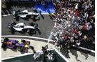 Hamilton, Bottas & Ricciardo - GP England 2014