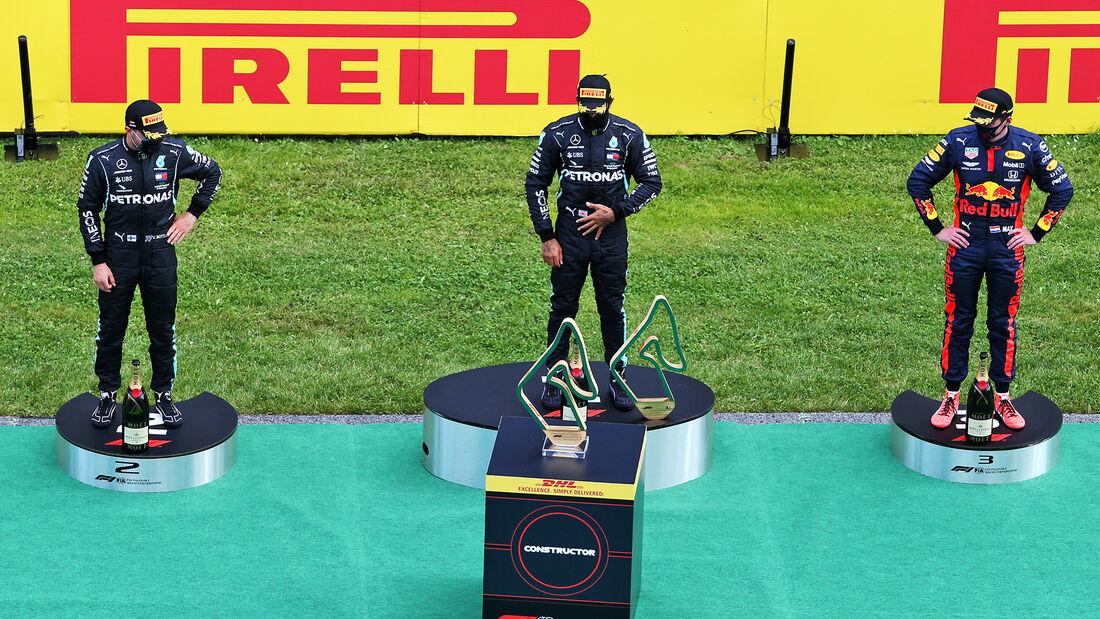 Hamilton - Bottas - Verstappen - Formel 1 - GP Steiermark 2020 - Spielberg - Rennen