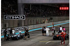 Hamilton, Bottas & Vettel - GP Abu Dhabi - 25. November 2017