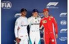 Hamilton - Bottas - Vettel - GP Russland 2018 - Sotschi - Qualifying
