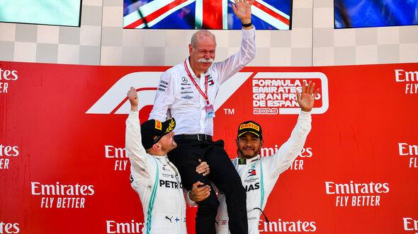 Hamilton, Bottas & Zetsche - Formel 1 - GP Spanien 2019