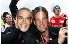 Hamilton & Button F1 Fun Pics 2012