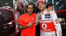 Hamilton & Button GP Brasilien 2012