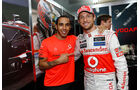 Hamilton & Button GP Brasilien 2012
