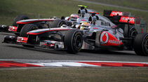 Hamilton Button GP China 2011