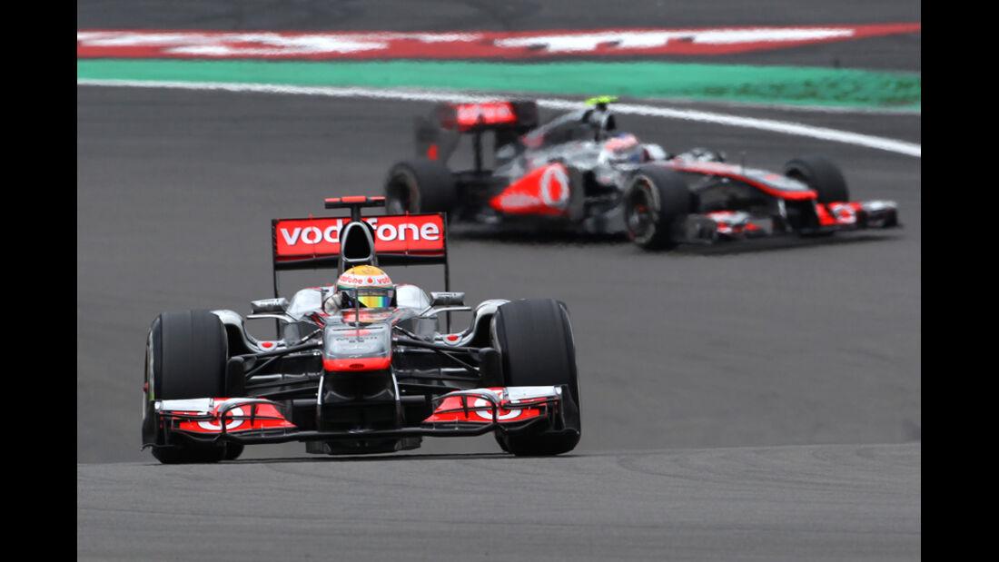 Hamilton Button GP Deutschland 2011
