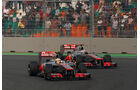 Hamilton & Button GP Indien 2012