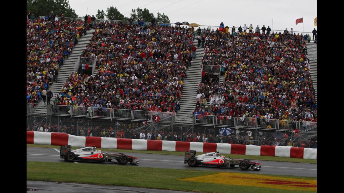 Hamilton & Button GP Kanada 2011