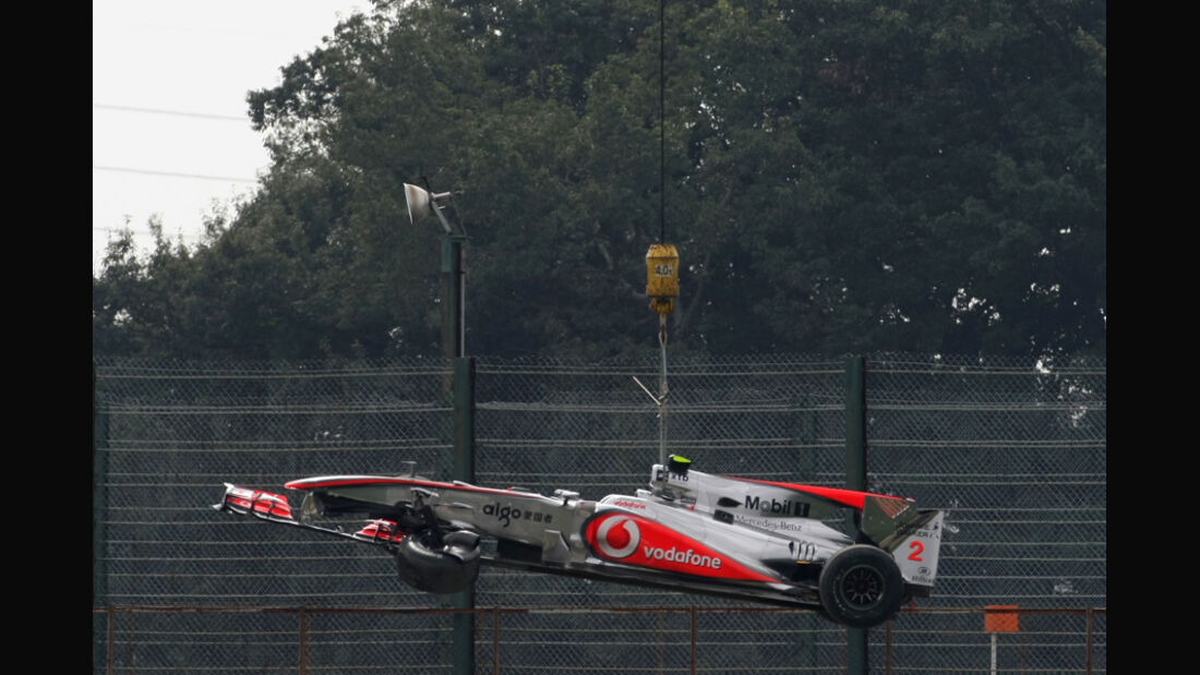 Hamilton Crash GP Japan
