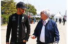 Hamilton & Ecclestone - Formel 1 - GP China - Shanghai - 11. April 2015