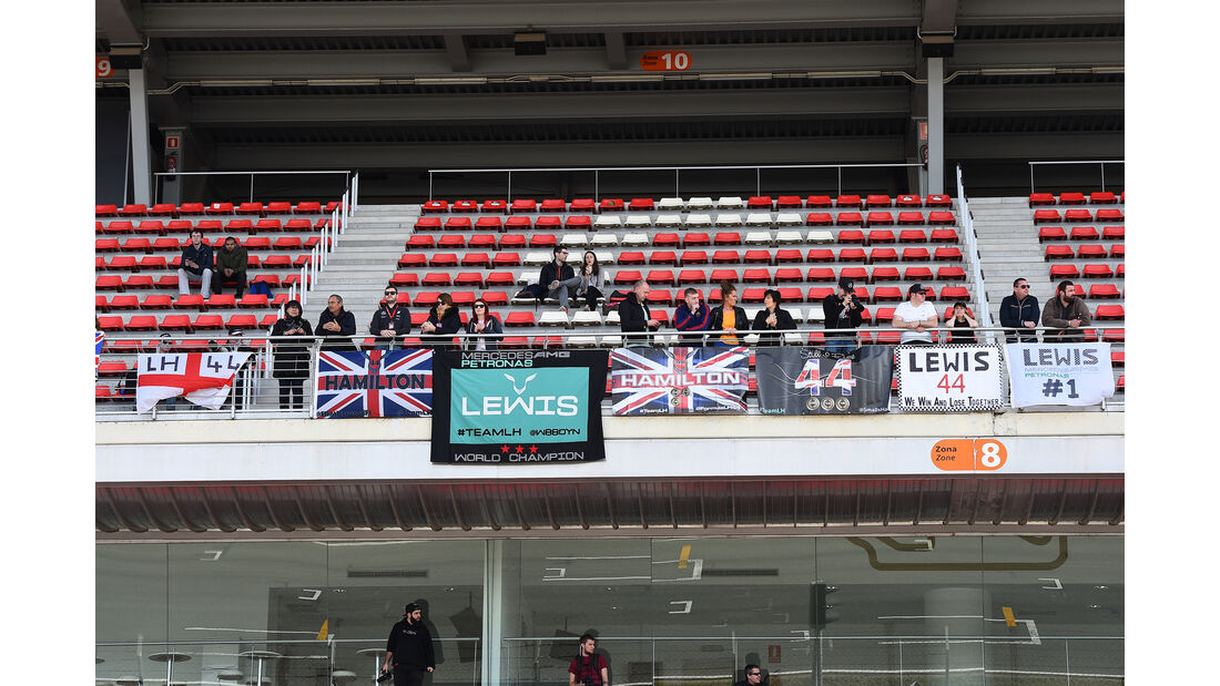 Hamilton-Fans - Barcelona - Formel 1-Test - 1. März 2016