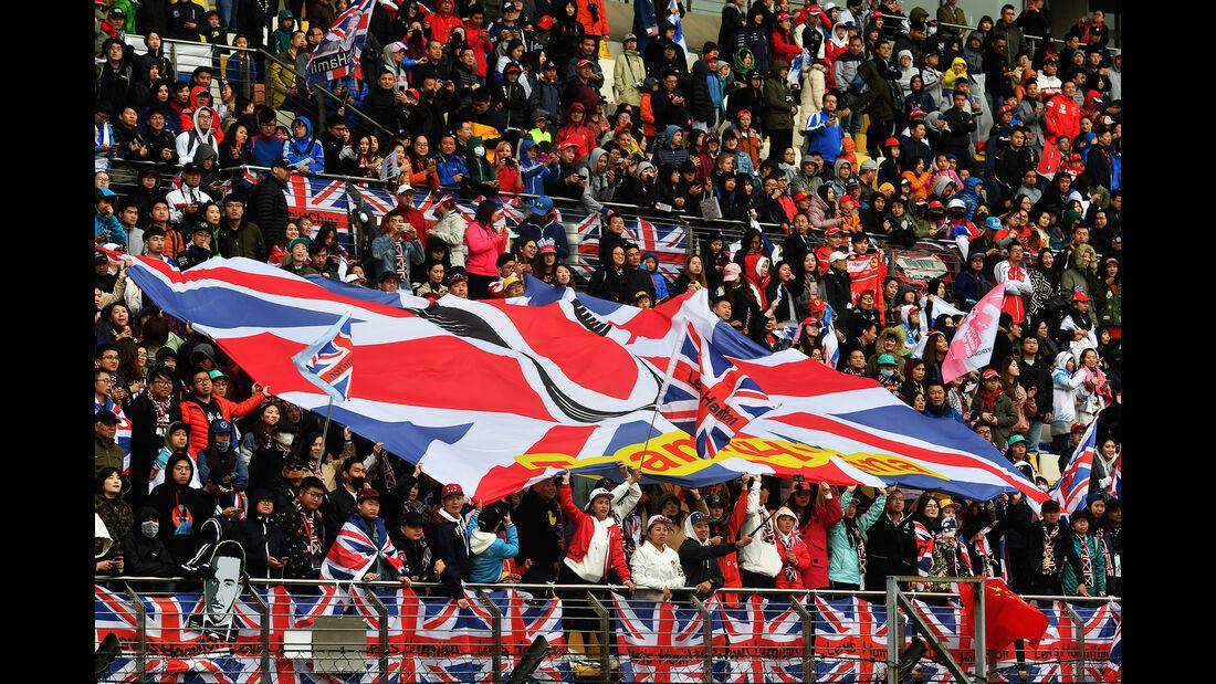 Hamilton-Fans - Formel 1 - GP China - Shanghai - 14. April 2018