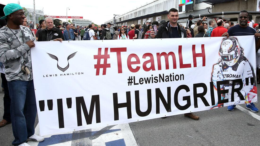 Hamilton Fans - Formel 1 - GP Kanada - Montreal - 5. Juni 2014