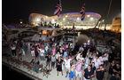 Hamilton-Fans - GP Abu Dhabi 2014