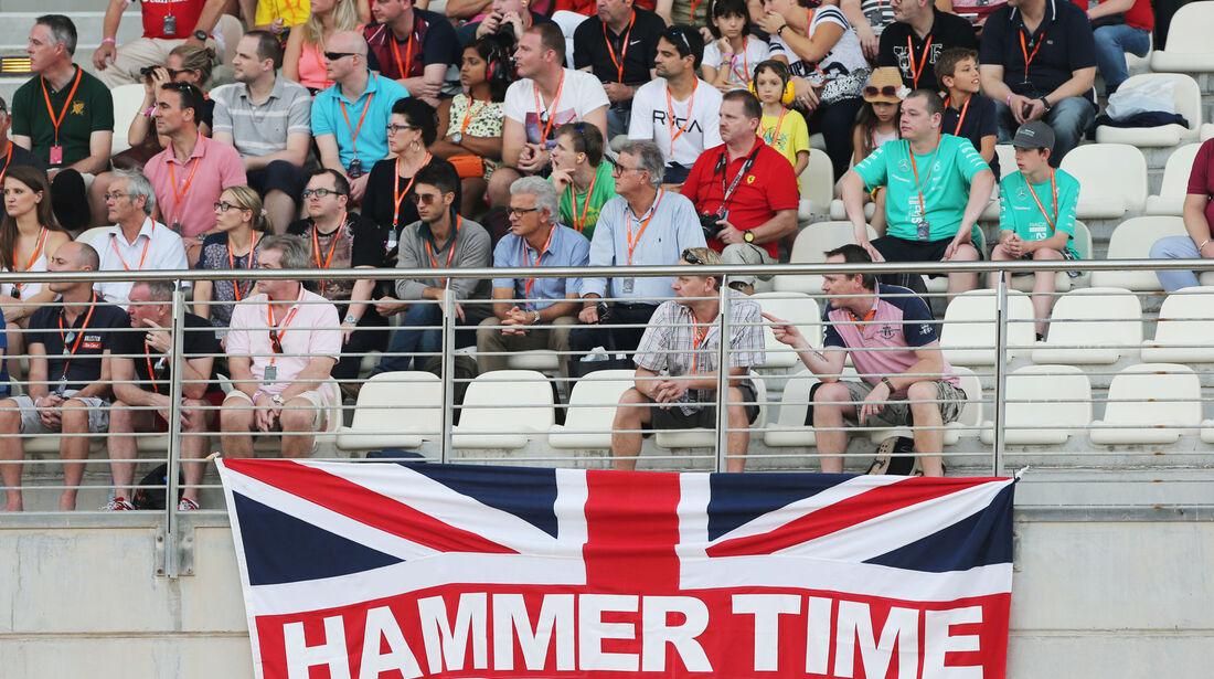 Hamilton-Fans - GP Abu Dhabi - 28. November 2015