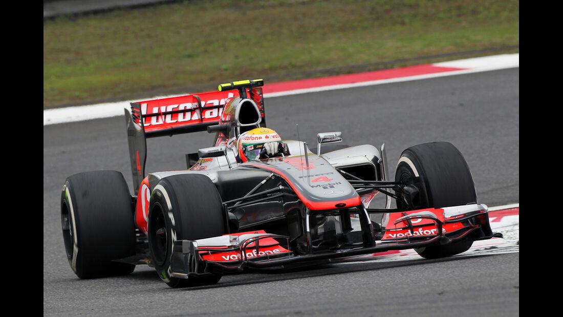 Hamilton - Formel 1 - GP China - 13. April 2012