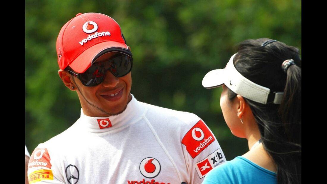 Hamilton Formel 1 GP China 2011