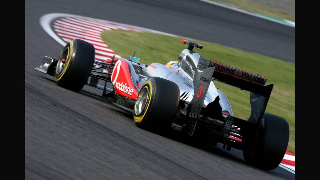 Hamilton  - Formel 1 - GP Japan - 07. Oktober 2011