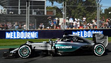 Hamilton - GP Ausralien 2016