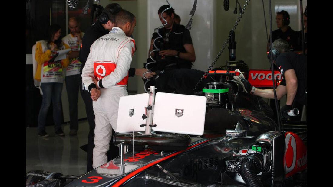 Hamilton GP Spanien 2011