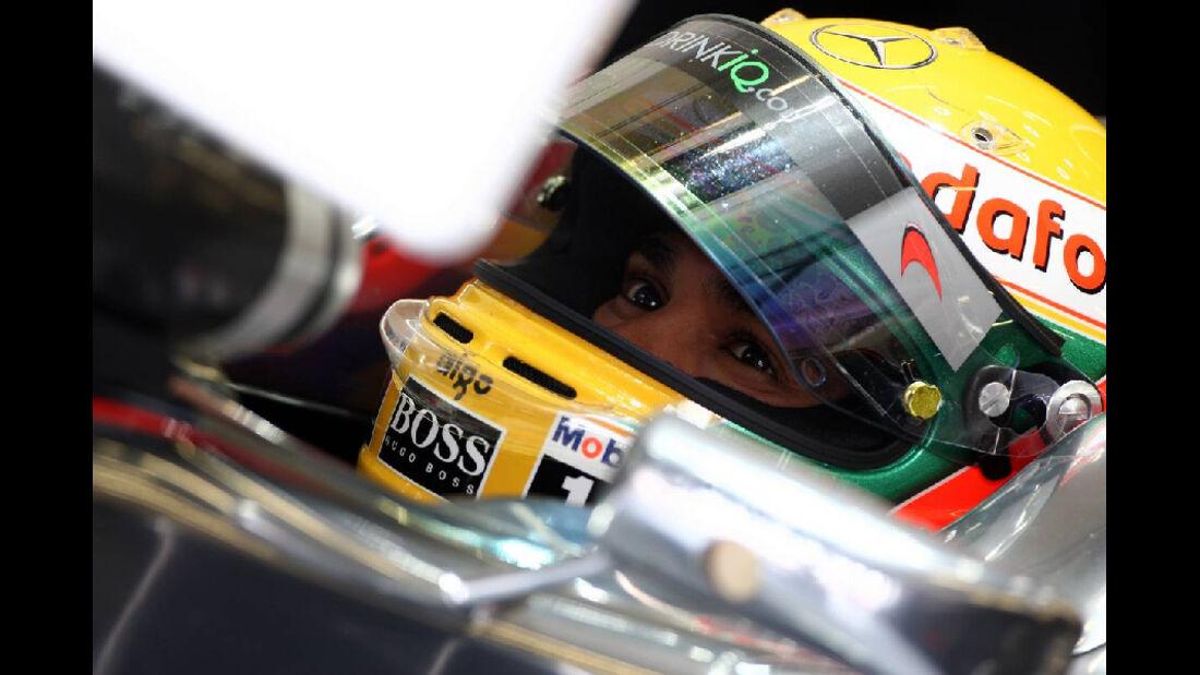 Hamilton GP Türkei 2011