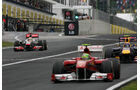 Hamilton - GP Ungarn - Formel 1 - 31.7.2011 - Highlights