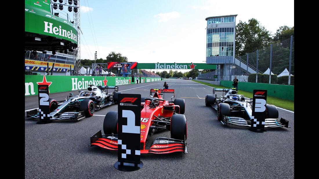 Hamilton, Leclerc & Bottas  - Formel 1 - GP Italien - Monza - 7. September 2019