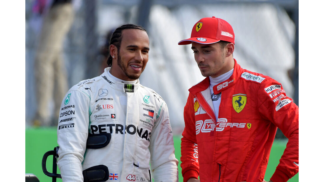 Hamilton & Leclerc  - Formel 1 - GP Italien - Monza - 7. September 2019