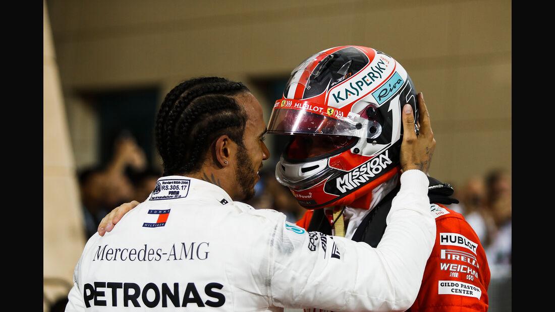 Hamilton & Leclerc - GP Bahrain 2019