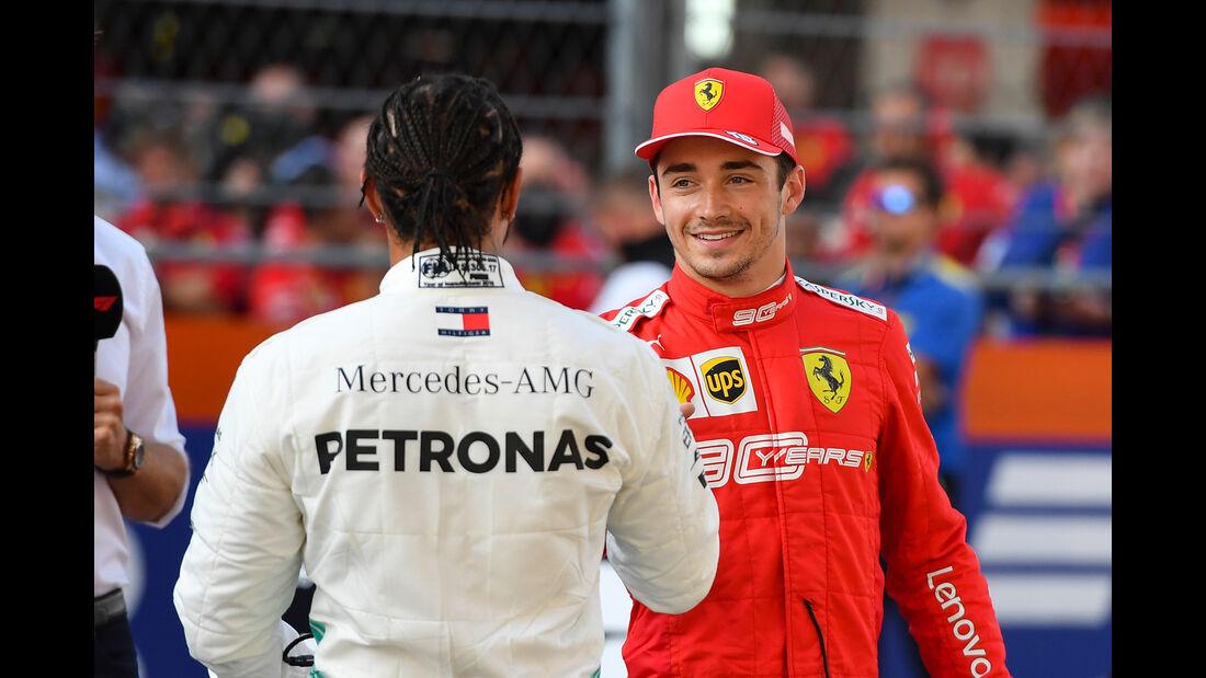 Hamilton & Leclerc - GP Russland 2019