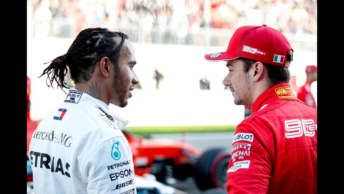 Hamilton - Leclerc - GP Russland 2019 - Sotschi - Qualifying