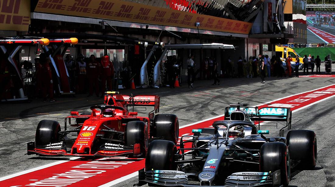 Hamilton & Leclerc - GP Spanien 2019
