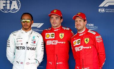 Hamilton - Leclerc - Vettel - GP Russland 2019 - Sotschi - Qualifying