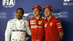 Hamilton - Leclerc - Vettel - GP Singapur 2019 - Qualifying