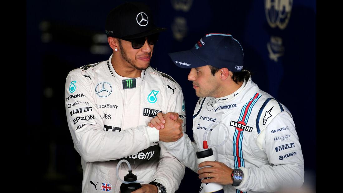 Hamilton & Massa - Formel 1 - GP Australien - Melbourne - 14. März 2015