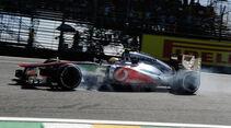 Hamilton McLaren GP Brasilien 2012